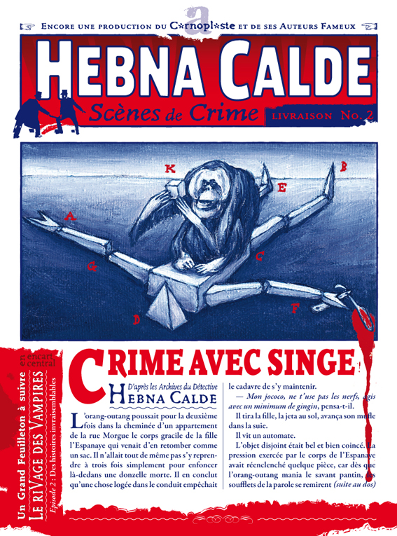 Hebna Calde No. 2 / recto - Crime avec singe